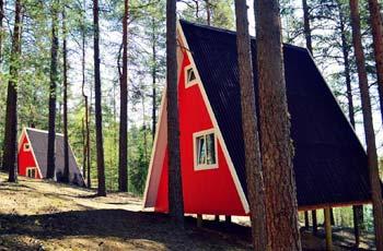 комплекс загородного отдыха, комплекс коттеджей Гринвальд Парк Скандинавия