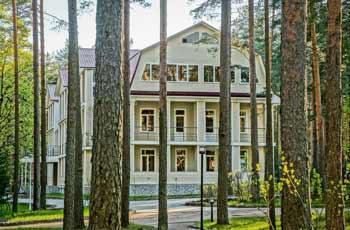 загородный отель Райвола